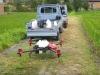 魚沼産コシヒカリの圃場でスマート農業の実証協力