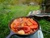 キャンプ飯には生米で作るリゾットやパエリアが簡単で本格的!